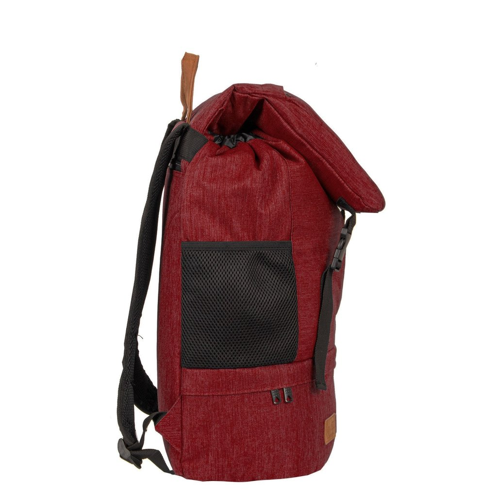 Heaven Big Flap Backpack Burgundy XX | Rugtas | Rugzak