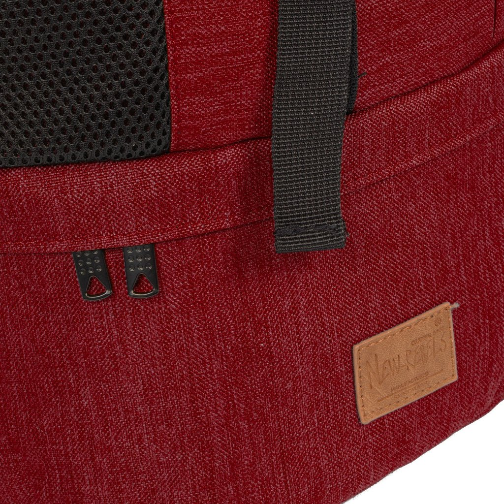 Heaven Big Flap Backpack Burgundy XX