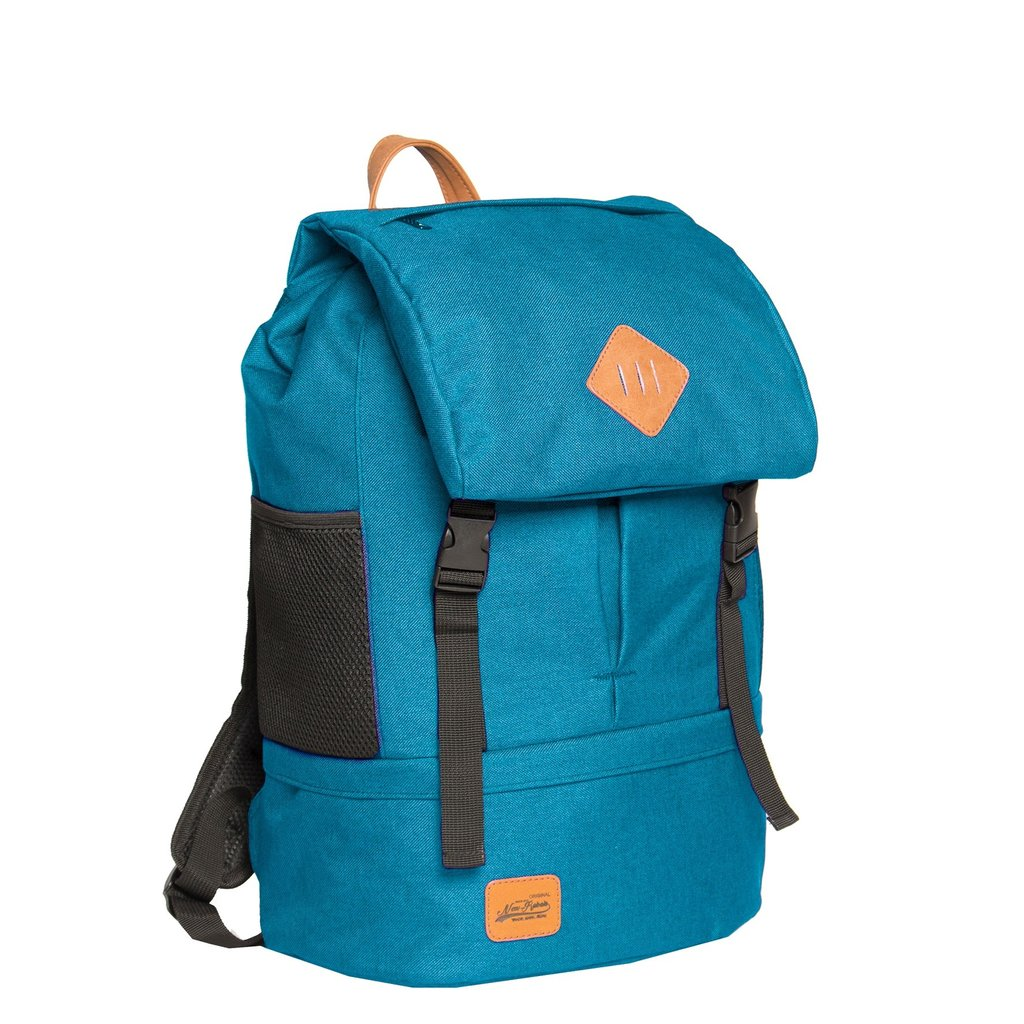 Heaven Big Flap Backpack New Blue XX | Rucksack
