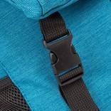 New Rebels® - Heaven - Rugzak - Vrijetijdstas - 25L - Laptop vak - Polyester - Aquablauw