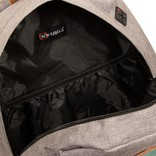 Creek Round Shape Backpack Anthracite/Mint VI
