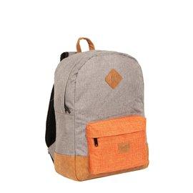 Creek Round Shape Backpack Anthracite/Orange VI | Rugtas | Rugzak