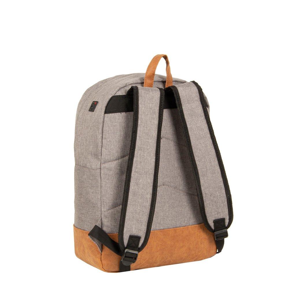 Creek Round Shape Backpack Anthracite/Orange VI | Rucksack