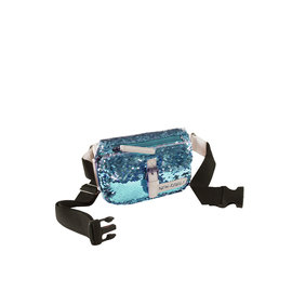 New Rebels Sequin Waistbag Softblue | Bauchtasche