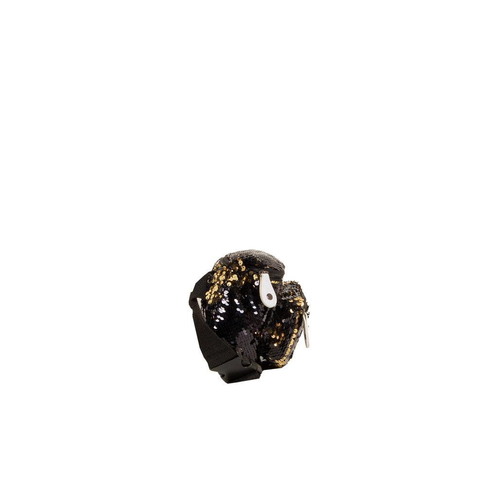 New Rebels Sequin Waist Bag Black | Heuptasje
