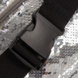 New Rebels Sequin Waist Bag Soft Silver | Bauchtasche