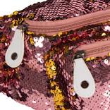 New Rebels Sequin Waistbag soft pink | Heuptasje