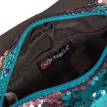 New Rebels Sequin Buckle Waist Bag Soft Blue | Heuptasje