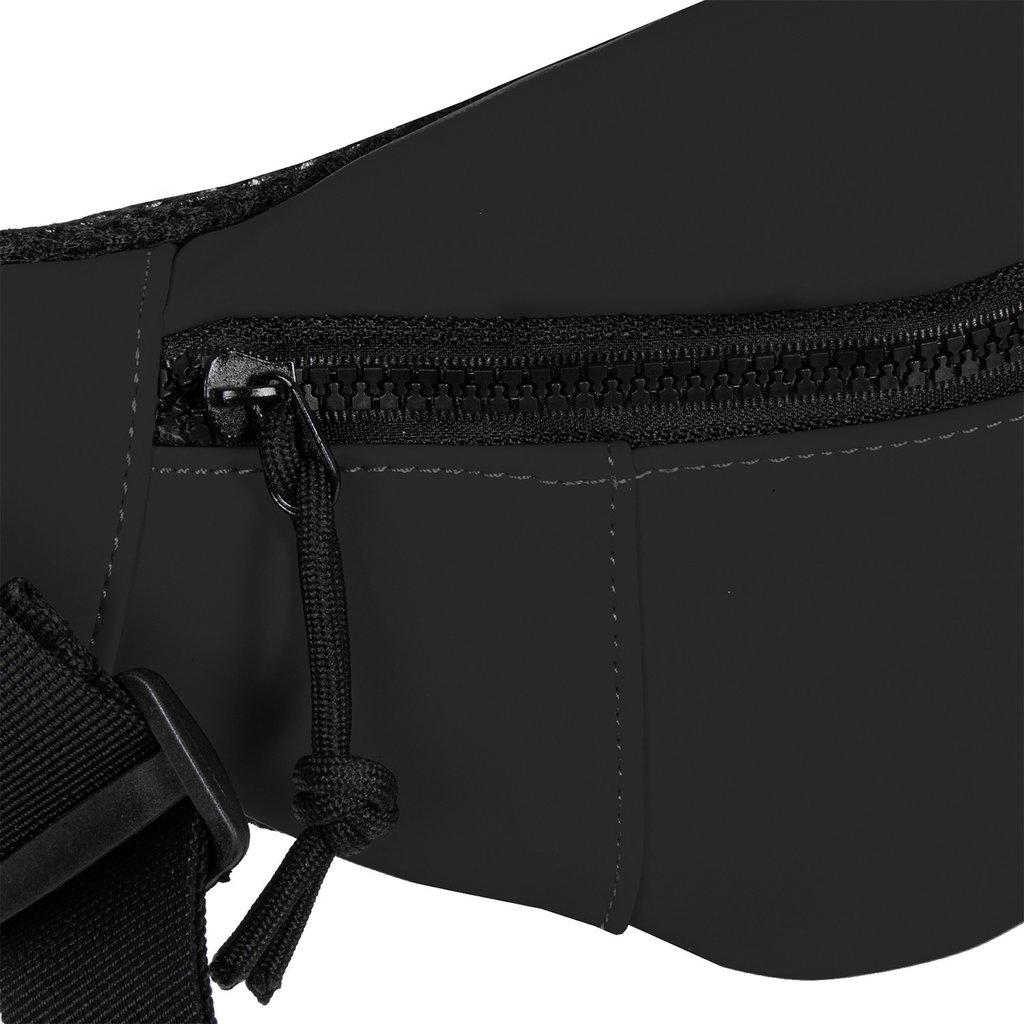 New Rebels Mart Waist Bag Black   Bauchtasche