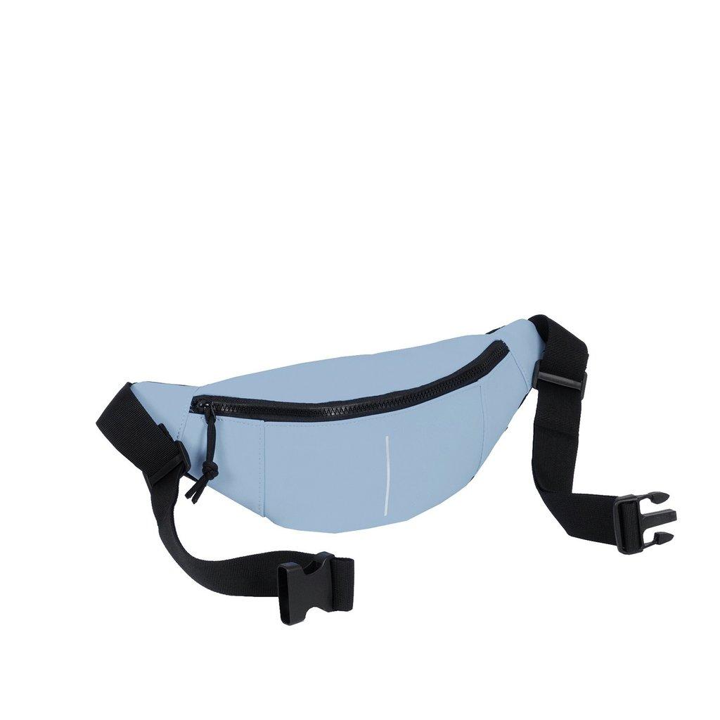 New Rebels®  - Mart - Waterafstotend - Waistbag - Heuptas - 22x8x12cm - Zacht Blauw