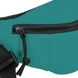 New Rebels®  - Mart - Water Repellent -  Waistbag - 22x8x12cm - Petrol