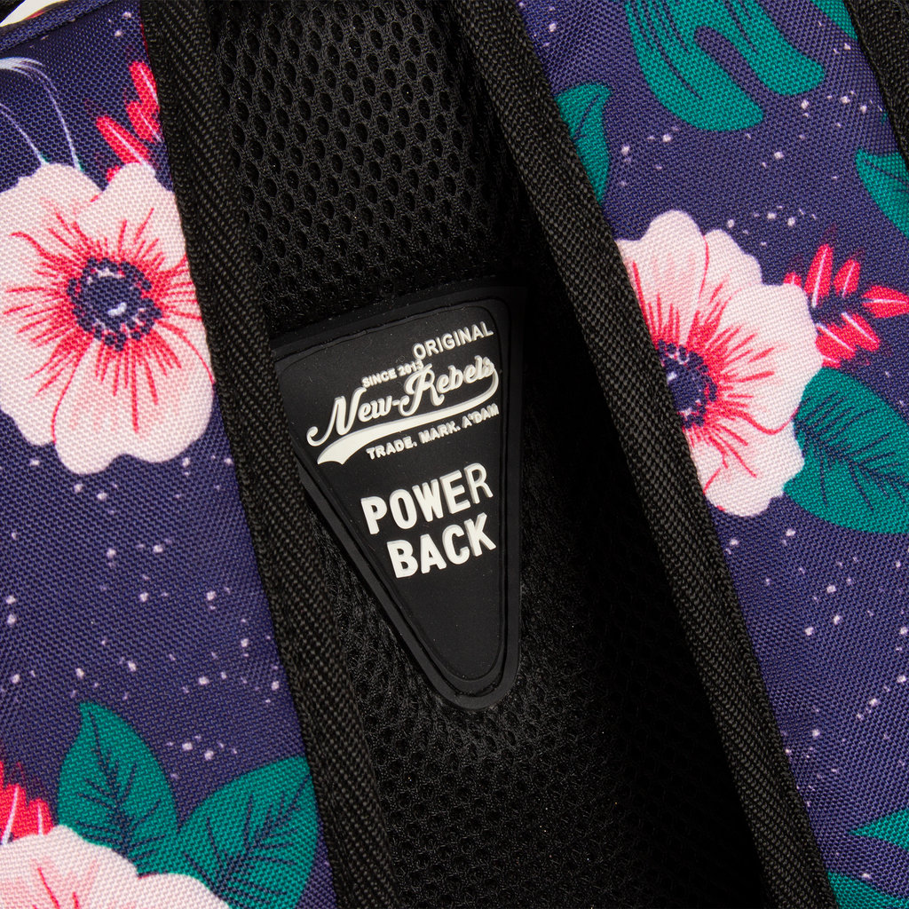 New Rebels BTS 4 with laptop comp flower print