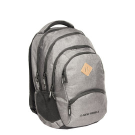 New-Rebels® BTS 4 with laptop comp gray