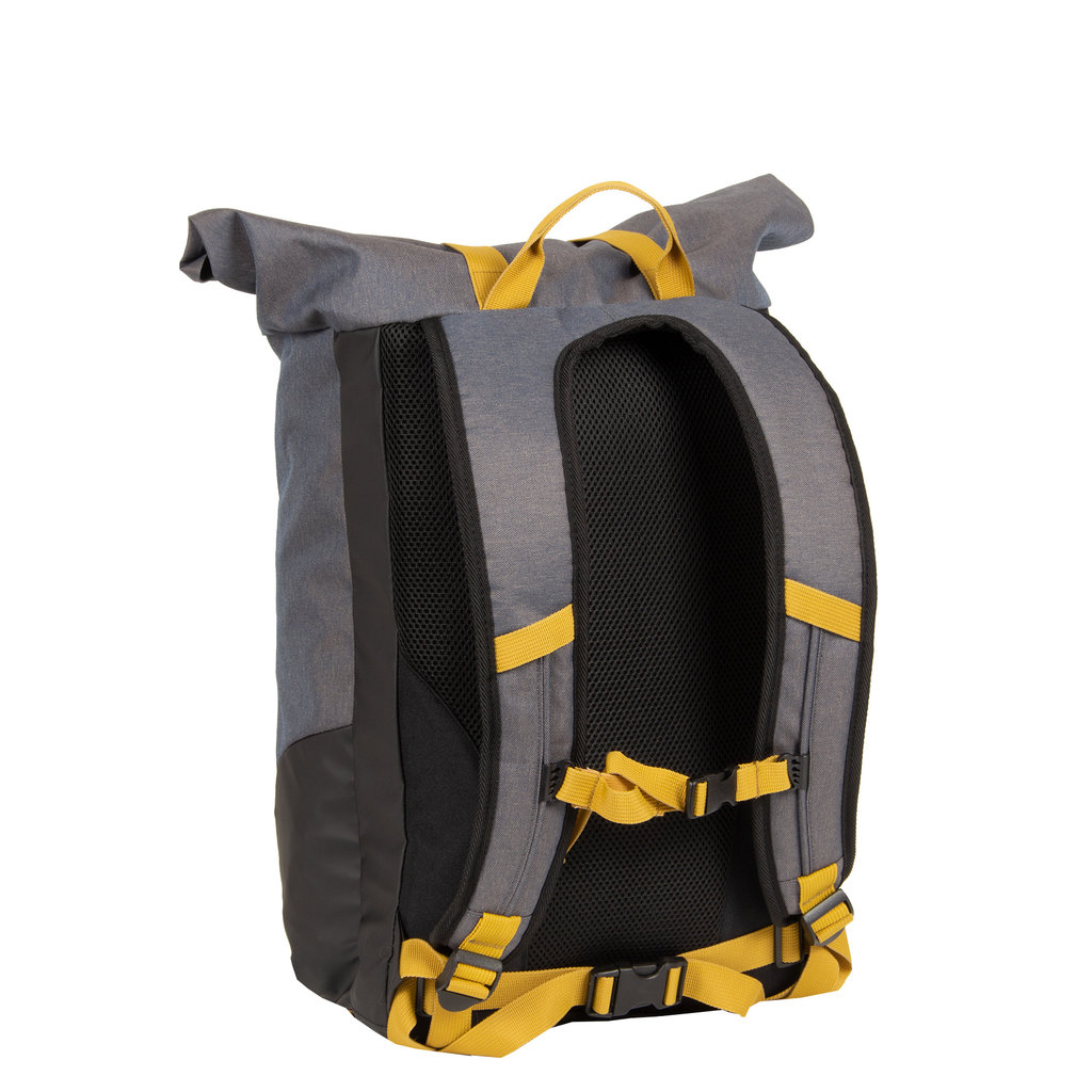 New Rebels Jack Roll Top Backpack Anthracite