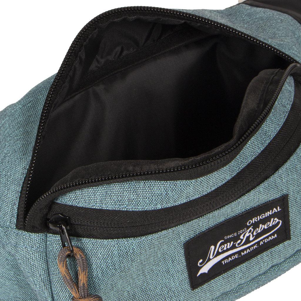 New Rebels Jack Waist Bag Turquoise