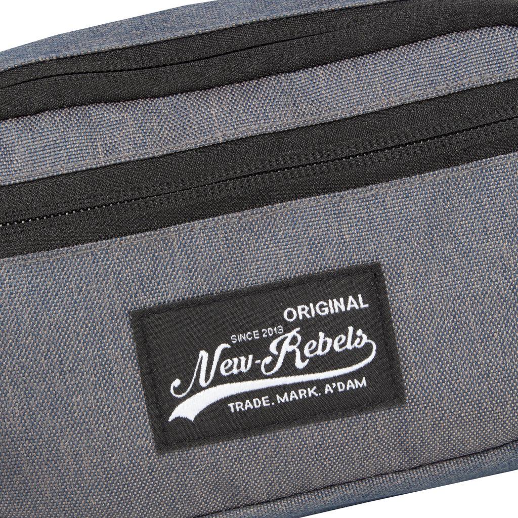 New Rebels Jack Waist Bag Anthracite