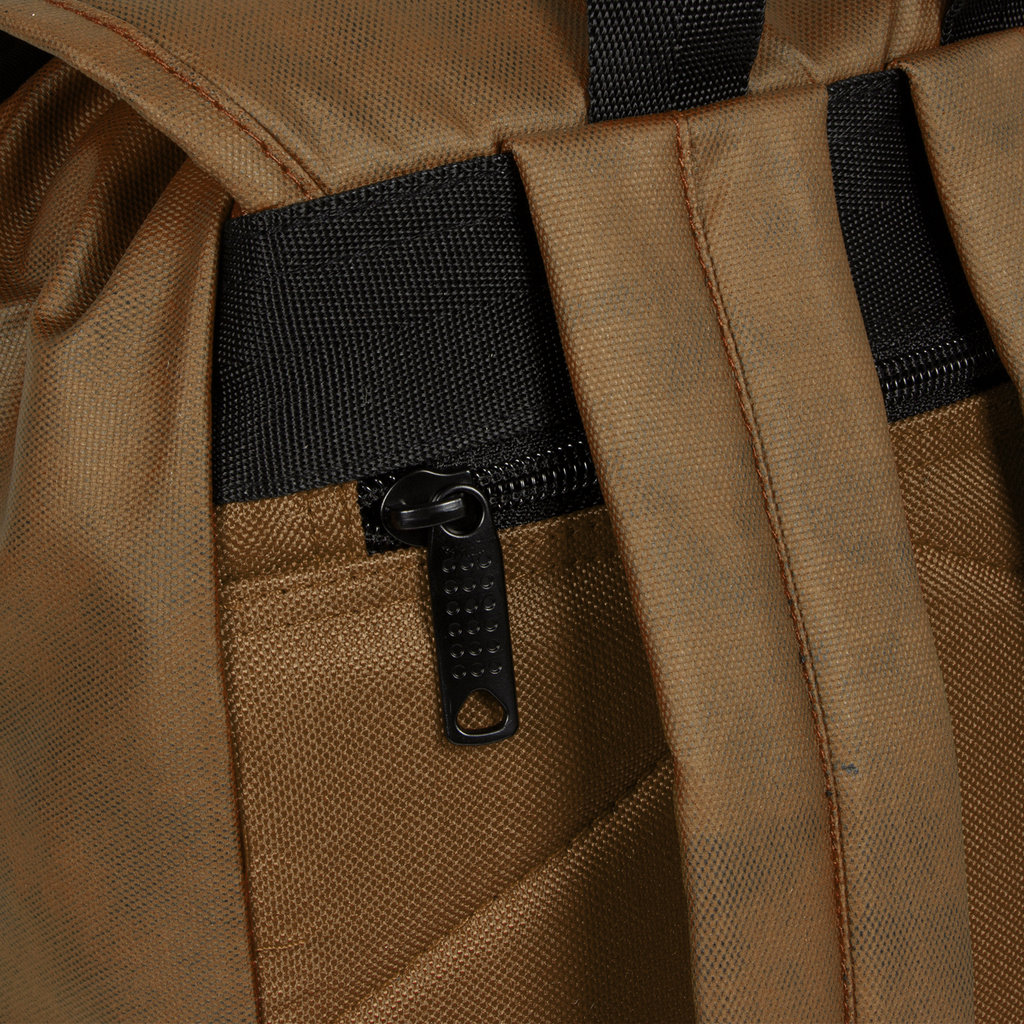 New Rebels Waxed Flapover Backpack | Rucksack Olive