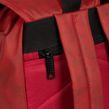 New Rebels Waxed Flapover Backpack | Rugtas Red