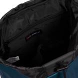 New Rebels Waxed  Flapover Backpack   Rucksack Navy