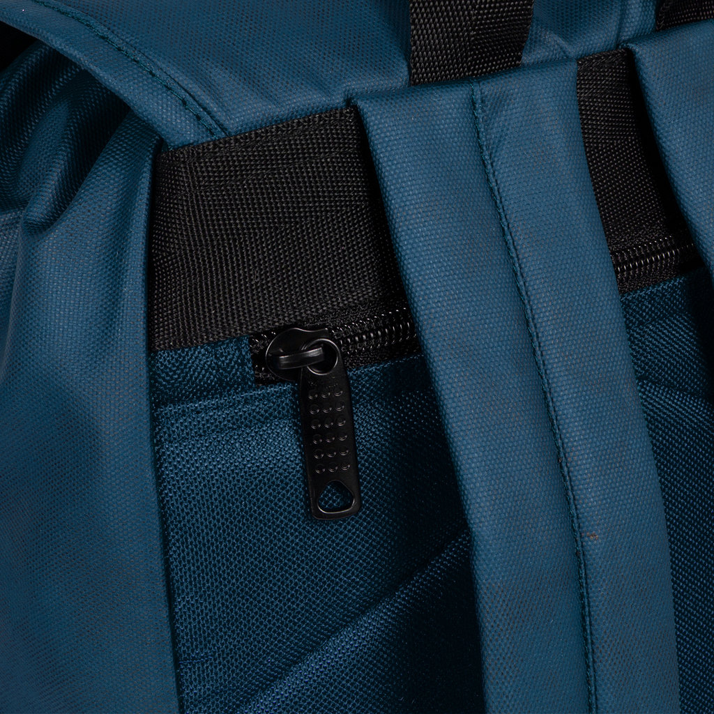 New Rebels Waxed  Flapover Backpack | Rucksack Navy