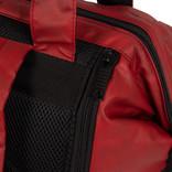 New Rebels Waxed red shopper backpack 27L