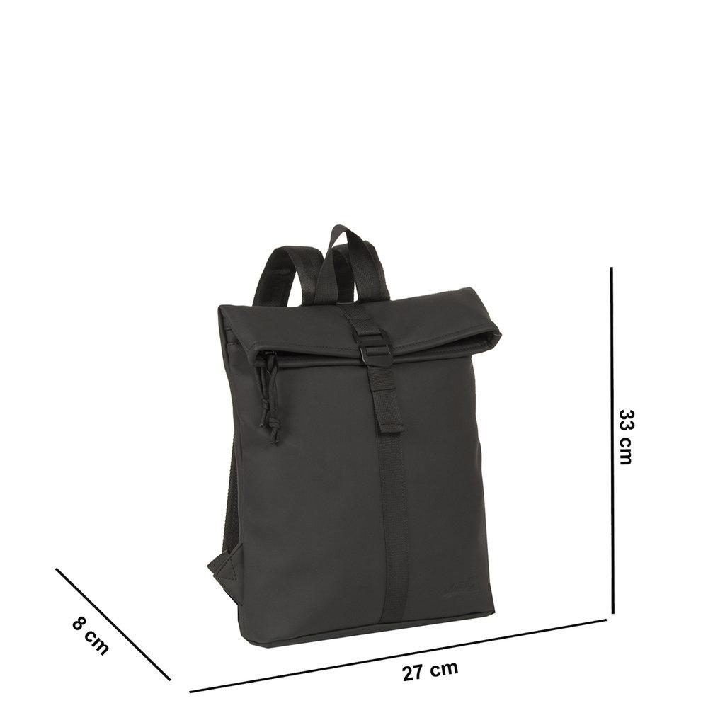 Mart Roll-Top Backpack Black Small II | Rugtas | Rugzak