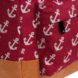 New Rebels Sealife backpack Burgundy