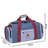 Wodz Sports Bag Soft Blue Medium V | Weekendtas | Sporttas