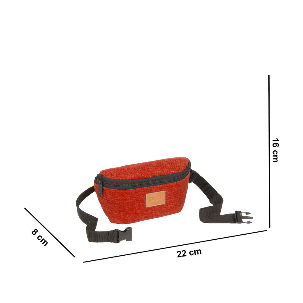 Heaven Waistbag Rusty Orange Small I | Heuptasje