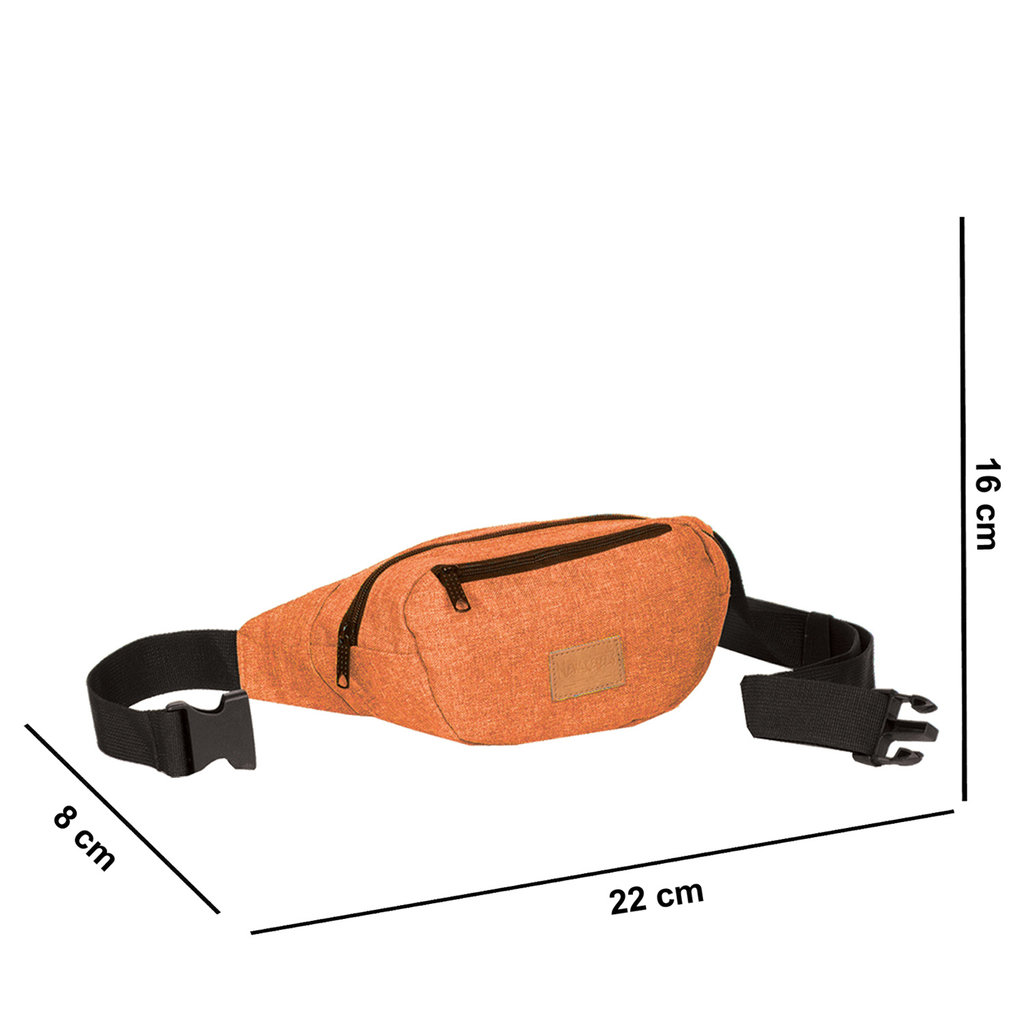 Heaven Waistbag Rusty Orange Medium II | Bauchtasche
