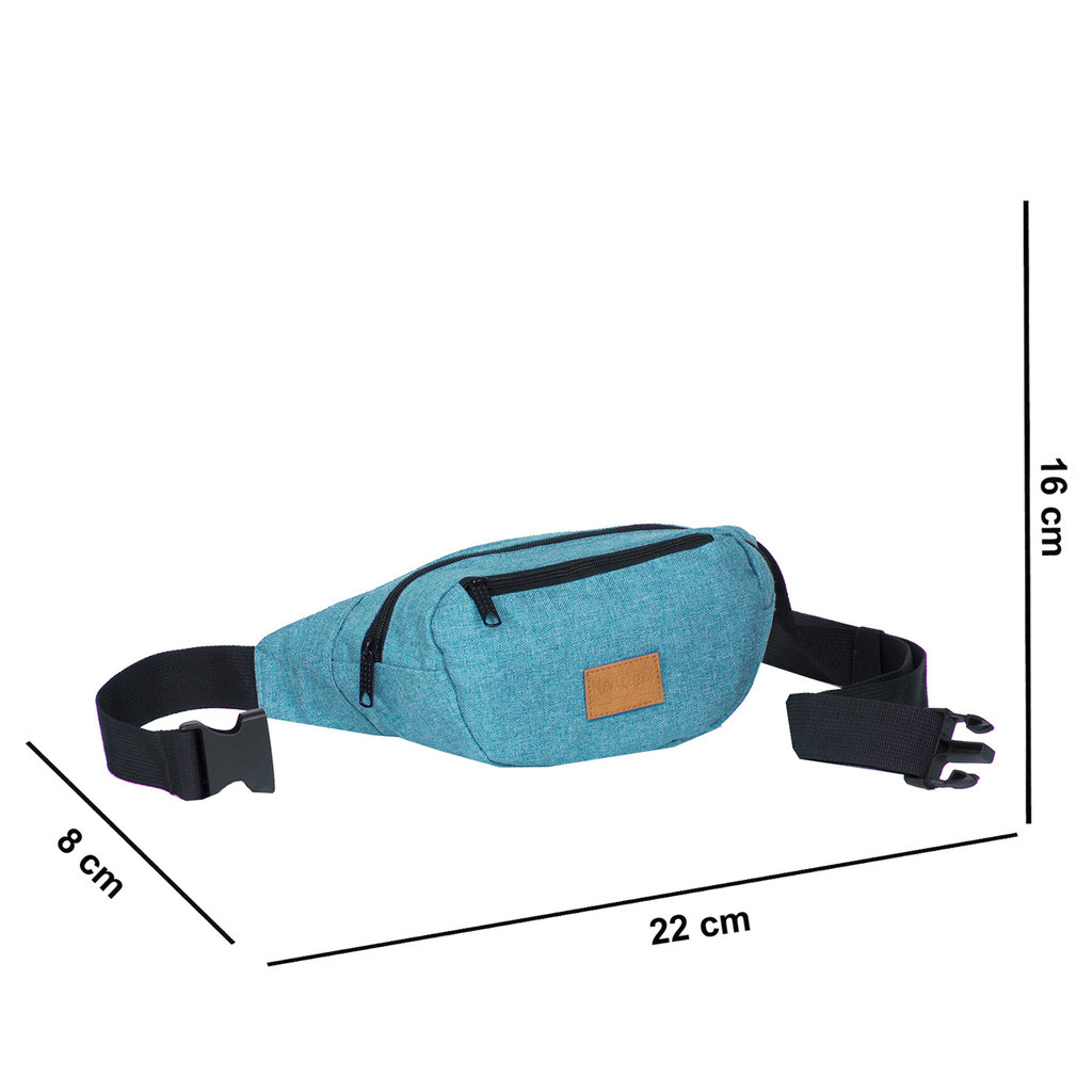 Heaven Waistbag New Blue Medium II | Heuptasje