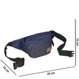 Creek Waist Bag Shadow Blue/Anthracite VIII | Bauchtasche