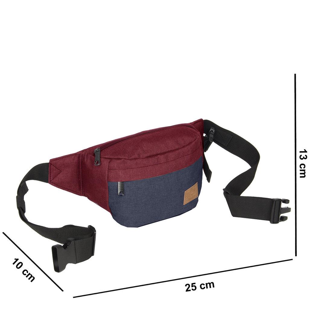 Creek Waist Bag Burgundy VIII | Heuptasje