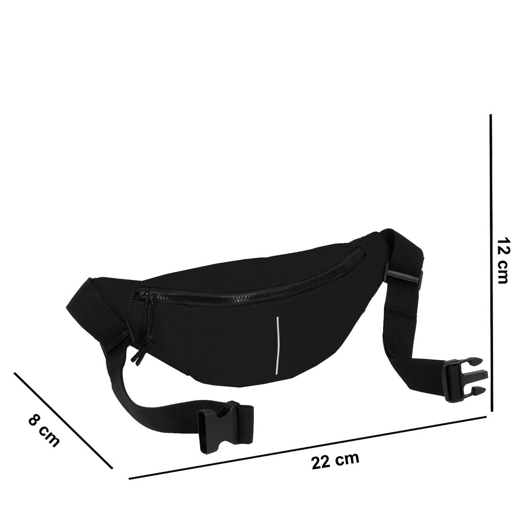 New Rebels Mart Waist Bag Black