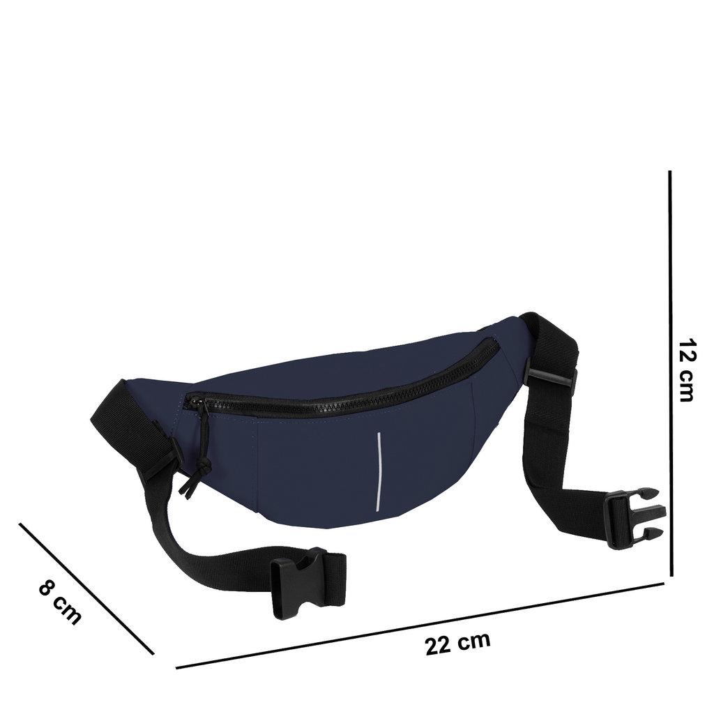 New Rebels Mart Waist Bag Navy