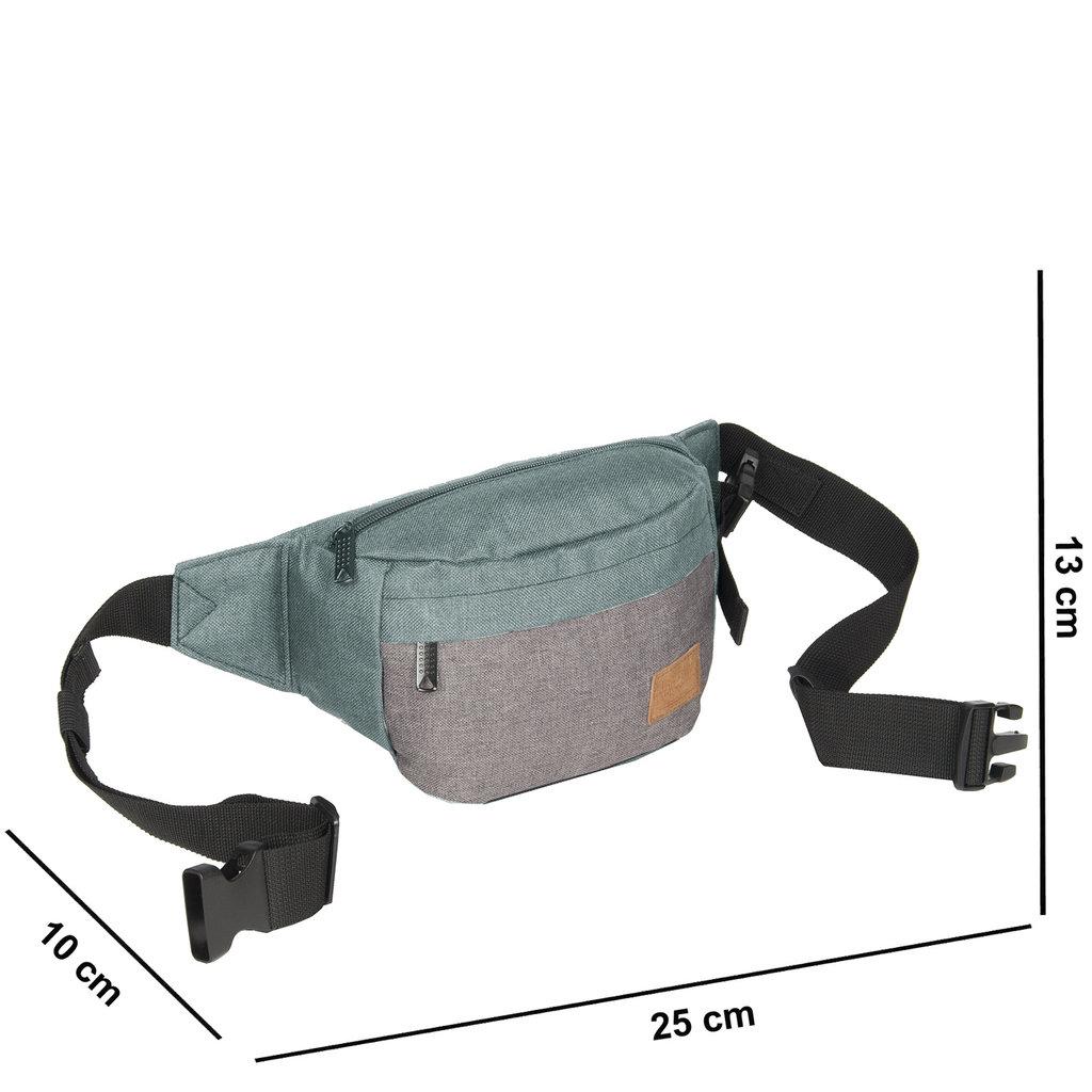 Creek Waist Bag Mint/Anthracite VIII | Bauchtasche