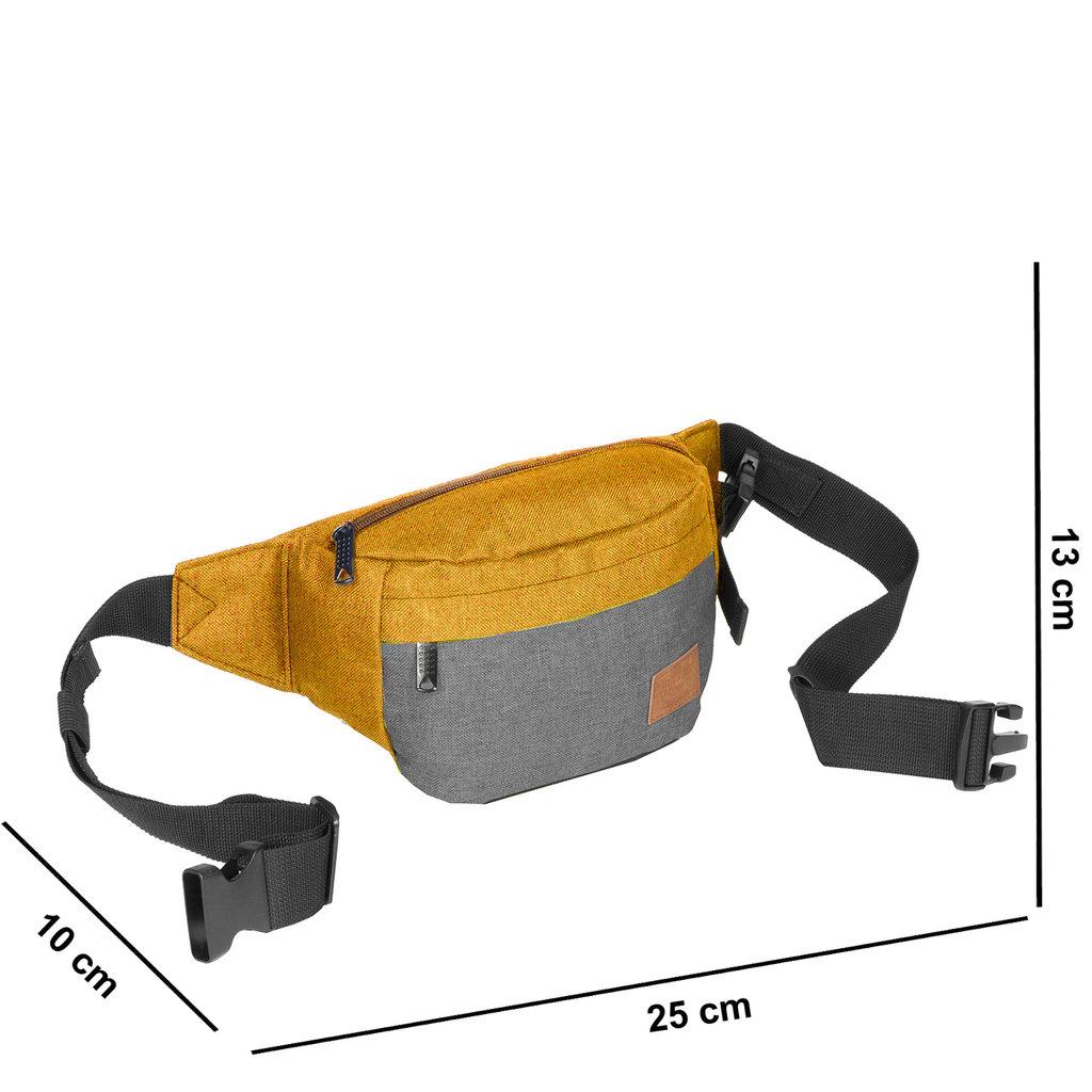 Creek Waist Bag Occur/Anthracite VIII | Bauchtasche