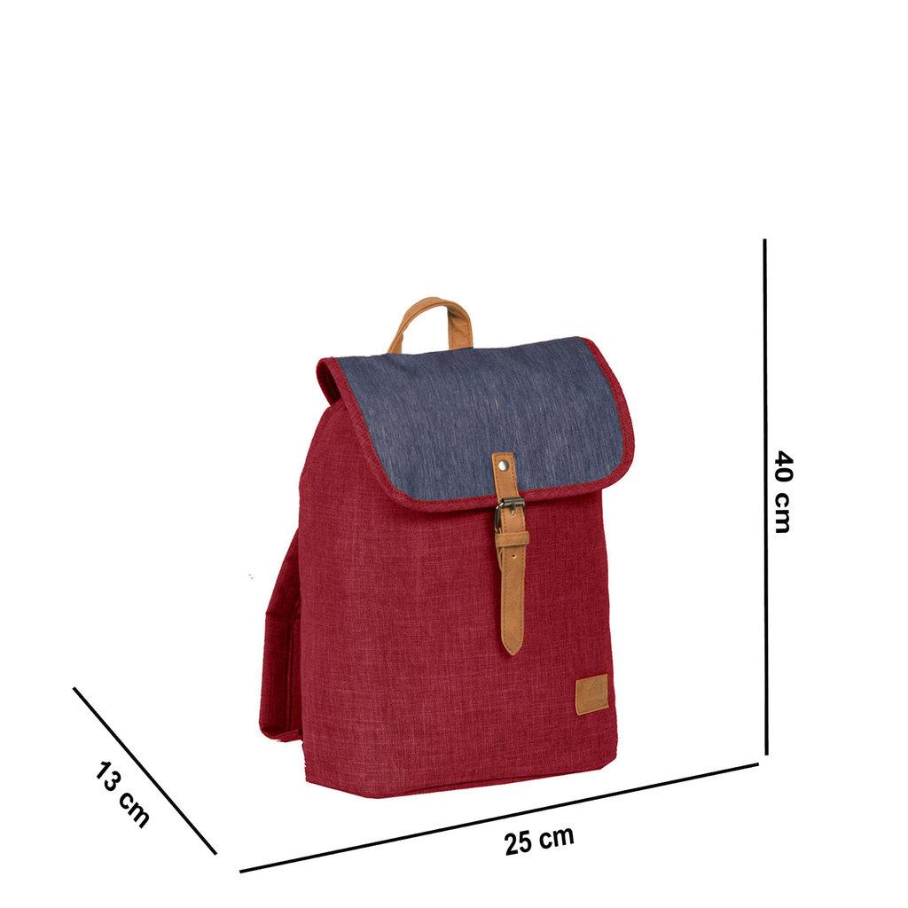 Creek Small Flap Backpack Burgundy IV | Rucksack