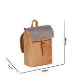 Creek Small Flap Backpack Sand IV | Rugtas | Rugzak