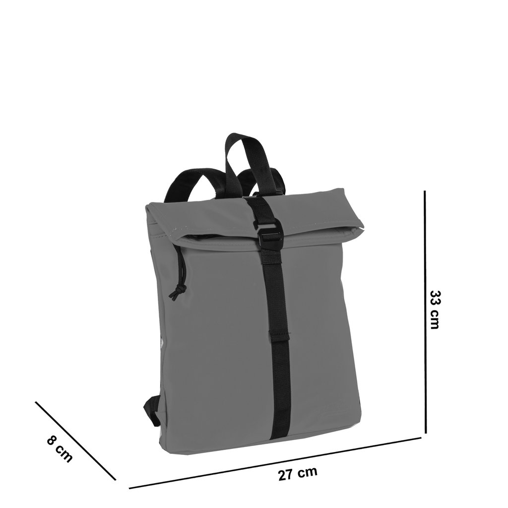 Mart Roll-Top Backpack Anthracite Small II