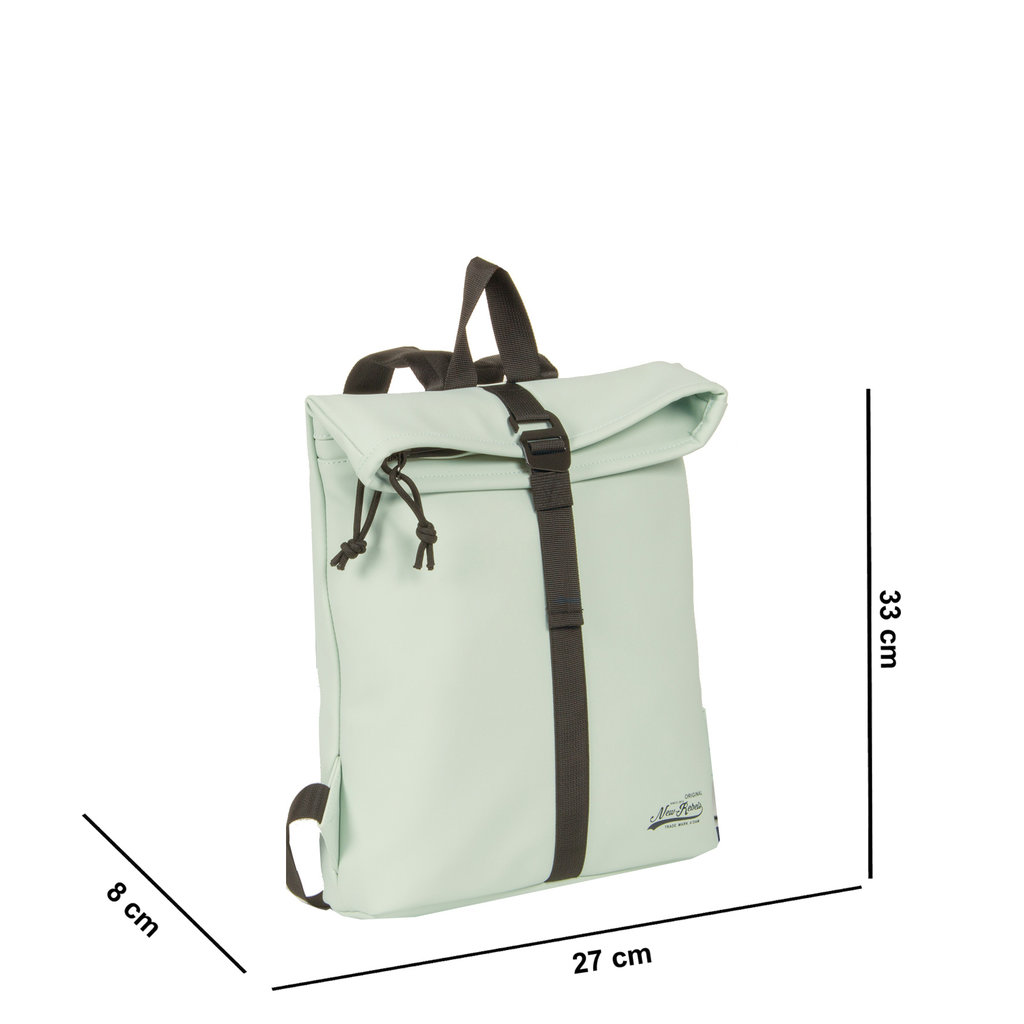 Mart Roll-Top Backpack Mint Blue Small II | Rugtas | Rugzak