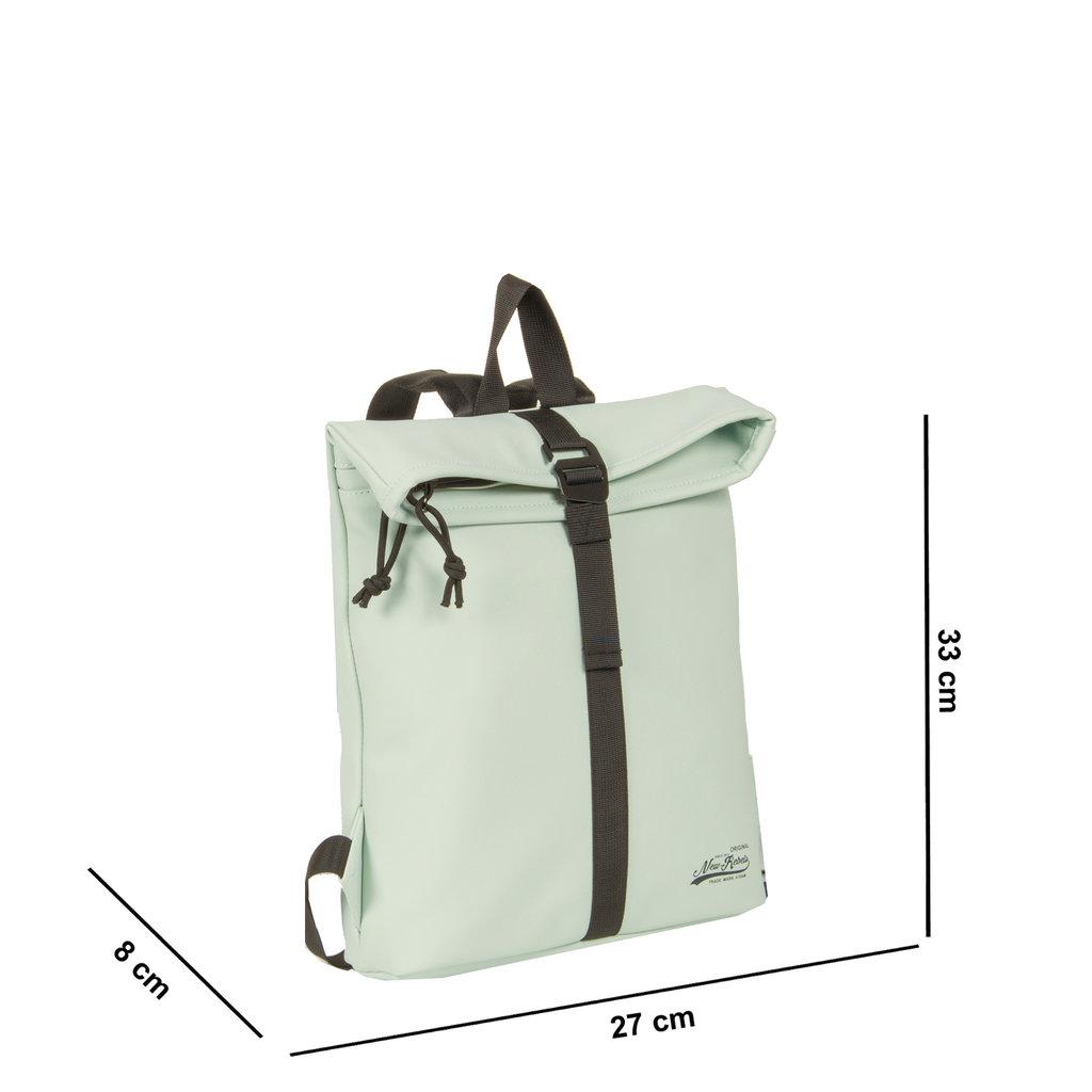 New-Rebels® Mart - Roll-Top - Backpack - Mint Blue - Small II - 27x8x33cm - Backpack