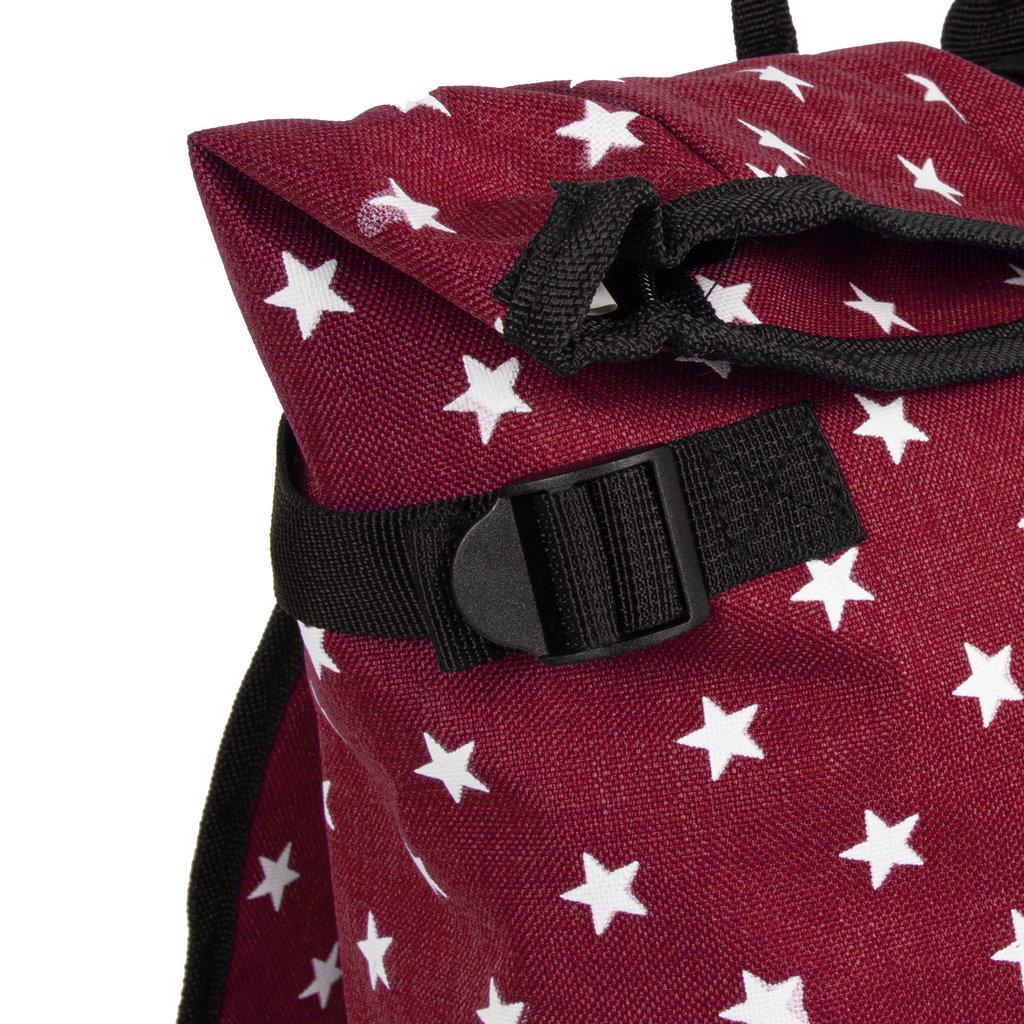 New Rebels Star range BP Urban Burgundy with stars