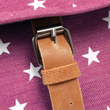 New-Rebels® star small flap backpack soft pink