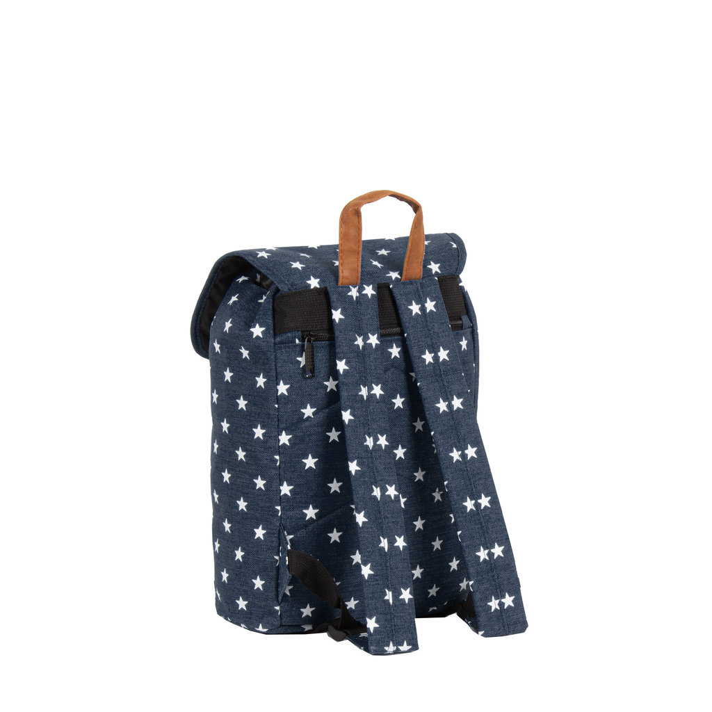 New Rebels star small flap backpack shadow blue