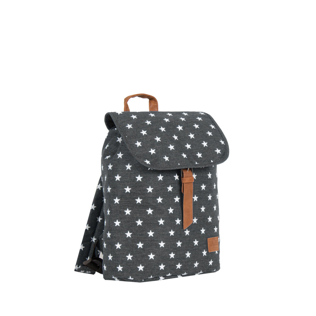 New Rebels star small flap backpack black