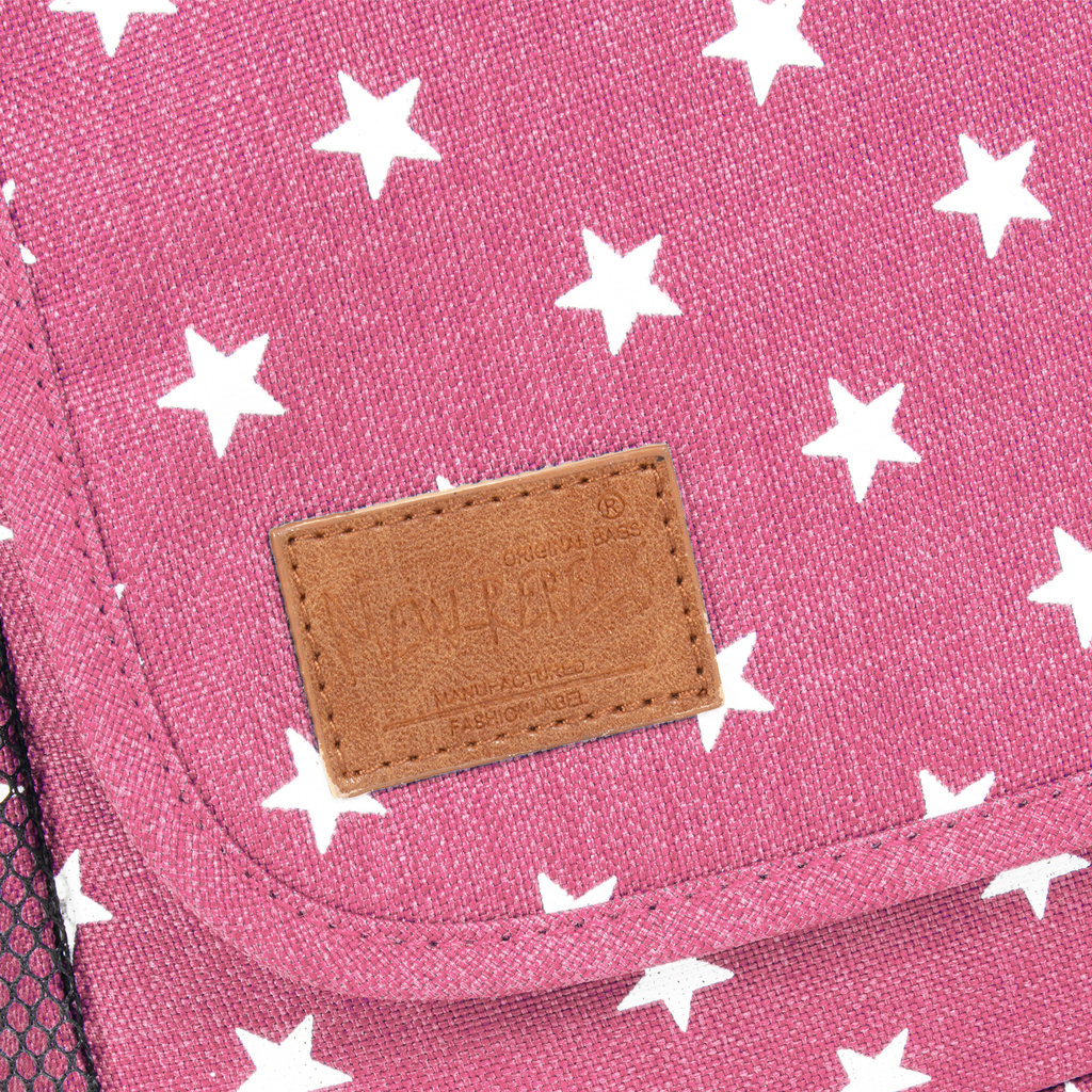New Rebels Star range  A5 soft pink with stars