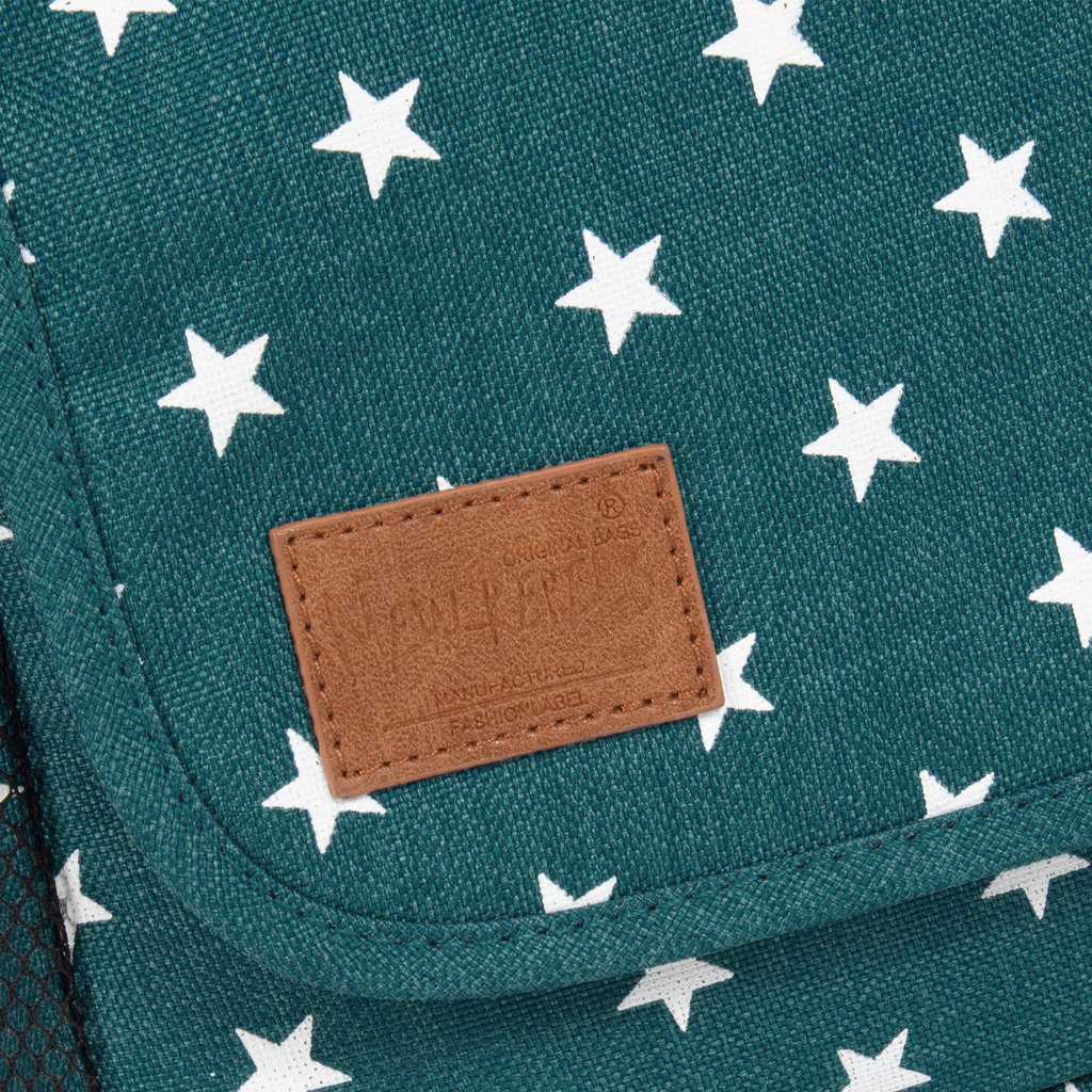 New Rebels Star range A5 froggreen with stars
