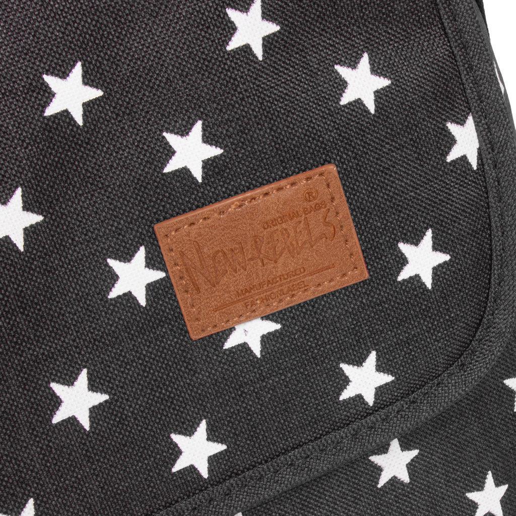 New Rebels Star range  A4 black with stars