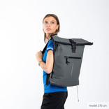New-Rebels® Mart - Roll-Top - Backpack - Anthracite - Large II - 30x12x43cm - Backpack